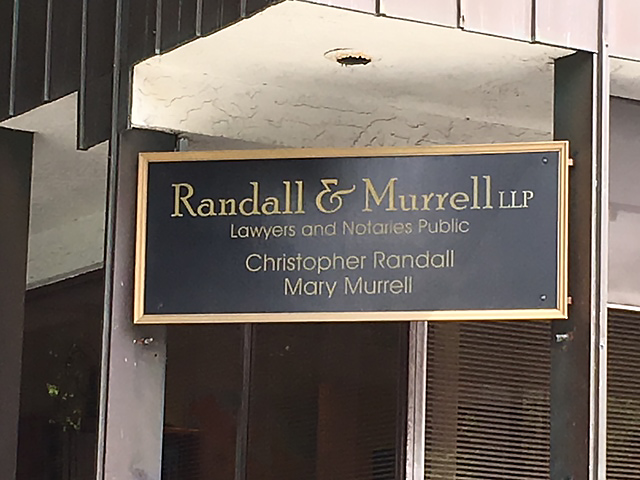 Randall and Murrell Victoria Notaries Public